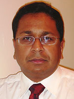Faculty Member Kaushik Sengupta