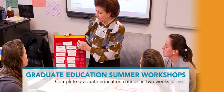 Graduate Education Summer Workshops