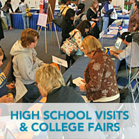 High School Visits & College Fairs