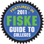 Featured in 2011 Fiske Guide to Colleges