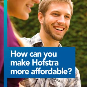 How can you make Hofstra more affordable?