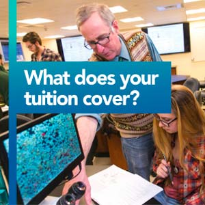 What does tuition cover?
