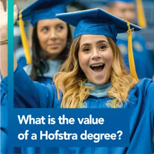 What is the value of a Hofstra degree?