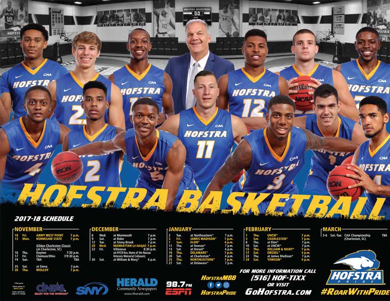 Men's Basketball Poster
