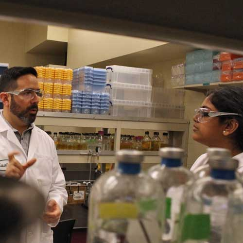 Javier Izquierdo, Assistant Professor of Biology
