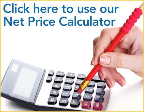 Click here to use our Net Price Calculator
