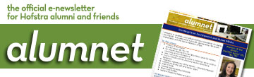 AlumNet - The Official e-newsletter for Hofstra Alumni and friends
