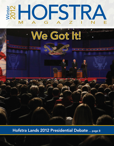 Hofstra Magazine Winter 2012 Issue