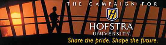 The Campaign for Hofstra University - Shape the pride. Shape the future.