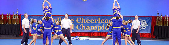 Hofstra cheerleaders and the dance team both receive first place honors at 2006 College Cheerleading and Dance Team Championship