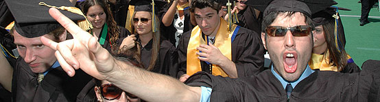 More than 2,000 students celebrated commencement on May 21