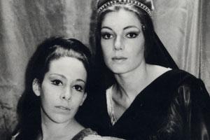 Susan (left) played Portia to Susan Sullivan's Calpurnia in the 1964 Hofstra Shakespeare Festival production of Julius Caesar.