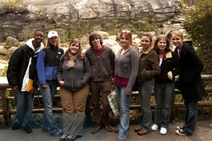 A weekend safari to the Bronx Zoo last spring was just one of many excursions that first-year students enjoyed in 2004.