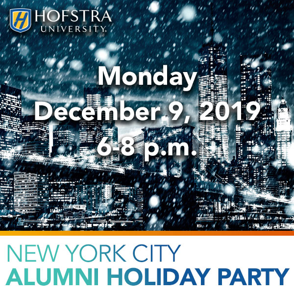 Register for the 2019 NYC Alumni Holiday Party