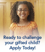 Ready to challenge your gifted child? Apply