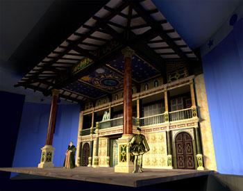 Hofstra New Globe Stage