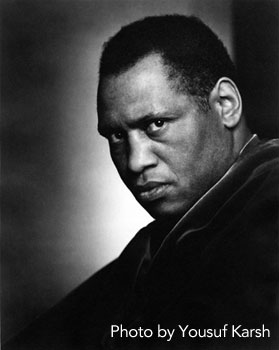 Paul Robeson, photo by Yousuf Karsh
