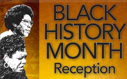Black History Month Reception