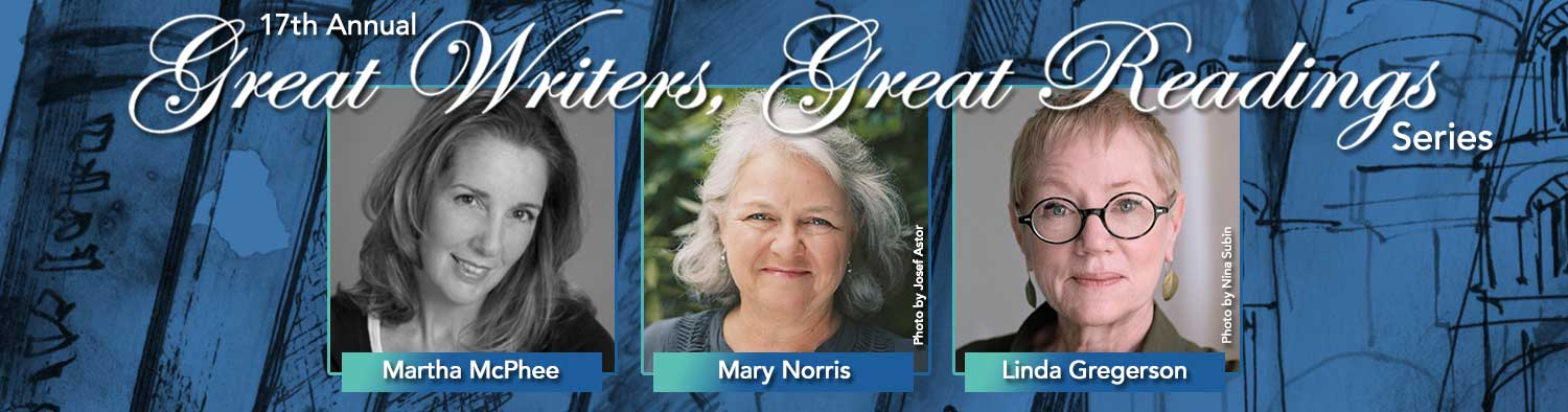 16th Annual Great Writers, Great Readings Series - Emily Wilson, Maxim D. Shrayer, Mary Norris #HofstraGWGR