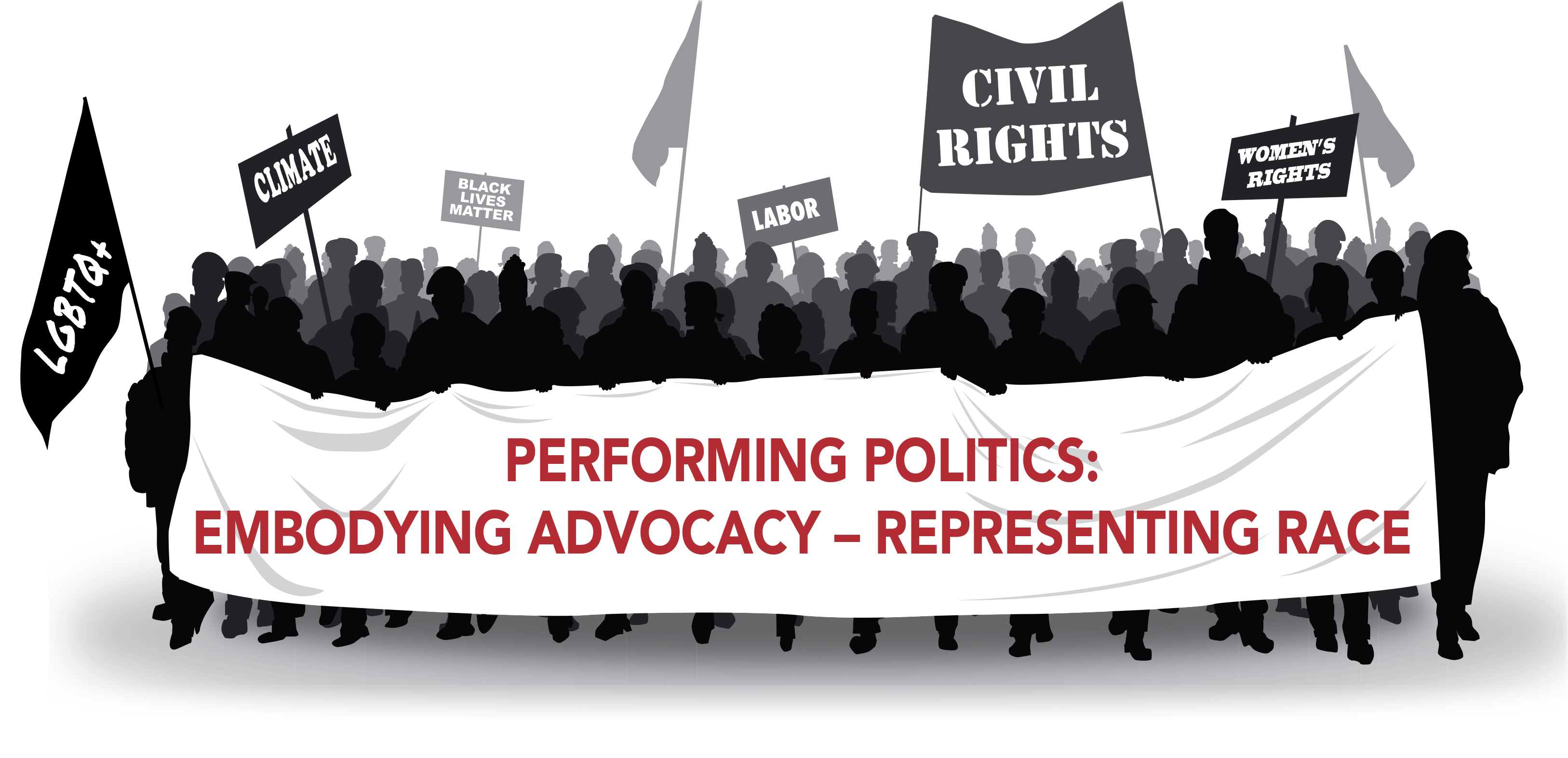 Perfroming Politics Banner