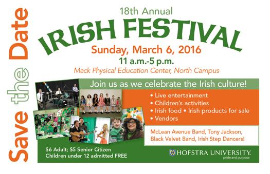 Irish Festival Save The Date