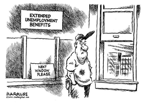 Jimmy Margulies, Unemployment