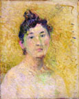 Paul Gauguin, Portrait of a Woman