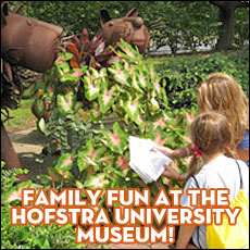 Family Fun at the Hofstra University Museum