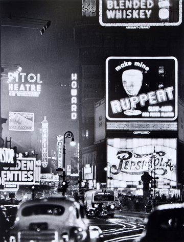 Andreas Feininger, Times Square