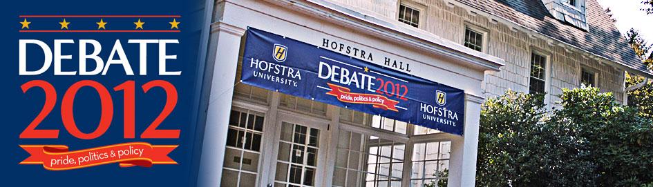 Hofstra University - Host of the second 2012 Presidential Debate - Debate 2012