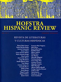 Hofstra Hispanic Review Spring 2007 Cover