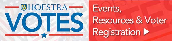 Hofstra Votes - Events, Resources & Viter Registration