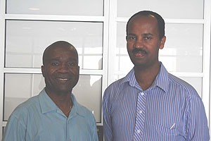 Curriculum and Teaching Professors Blidi Stemn and Mathematics Professor Behailu Mammo