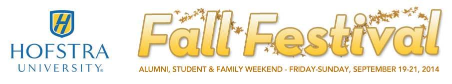 Fall Festival - Alumni, Student and Family Weekend -  September 27th-20th, 2012
