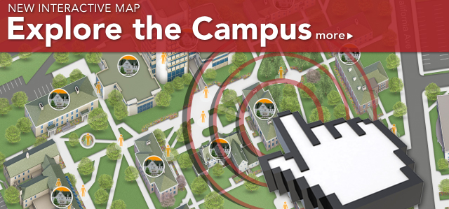 Explore the Campus - Interactive Map - more