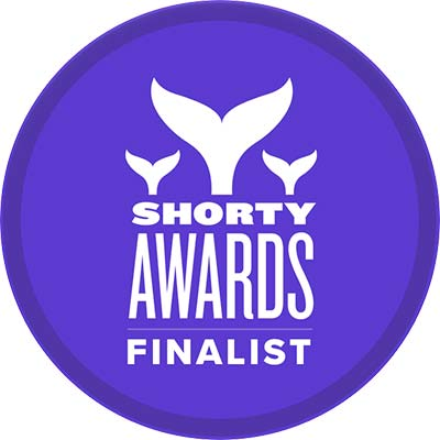 Shorty Award Finalist