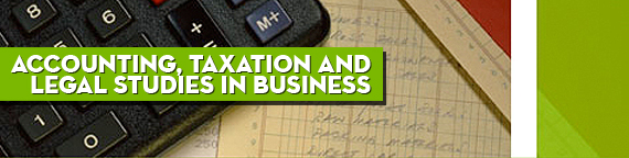 Accounting, Taxation and Legal Studies in Business: M.B.A. in Taxation