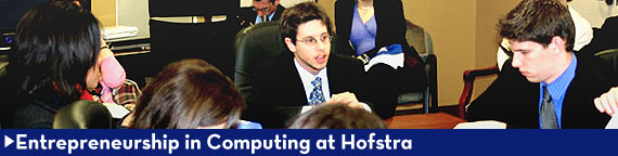 Entrepreneurship in Computing at Hofstra