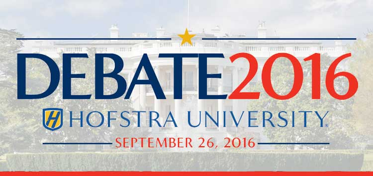 Debate 2016 - Hofstra University - September 26, 2016