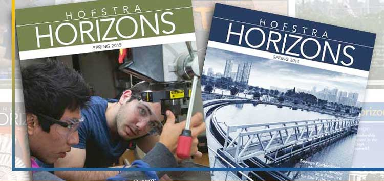 Hofstra Horizons - Research  Scholarship at Hofstra University
