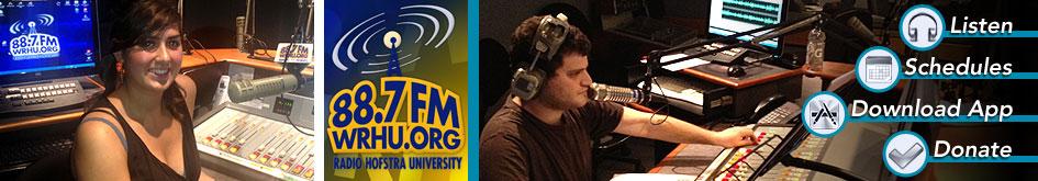 WRHU Radio Hofstra University 88.7 FM