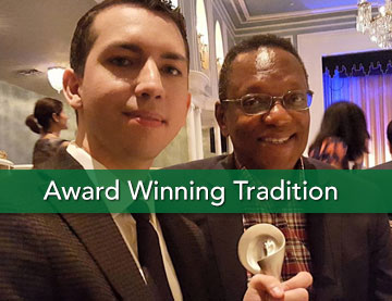 Award Winning Tradition