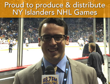 Proud to produce & distribute NY Islanders NHL Games