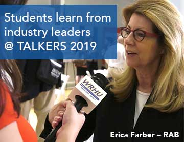 WRHU Student Staff Learn From Industry Leaders @ TALKERS 2019 in NYC