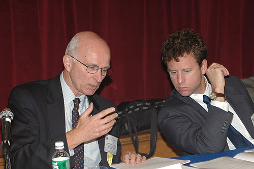 Lawrence Korb and Michael O'Hanlon at the Defense and Nuclear Policy panel