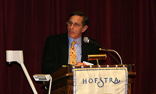 Roy W. Gutman at the Humanitarian Intervention panel