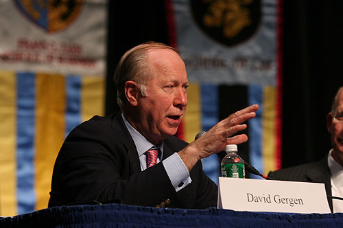 David Gergen at the The New Democrat Plenary Session
