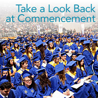 A Look Back at Commencement
