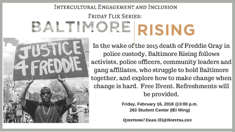 Friday Flix: Baltimore Rising