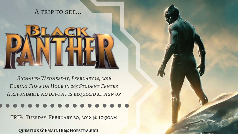 Black Panther Trip Information